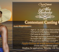 MISS BARBADOS UK 2016: APPLICATIONS NOW OPEN
