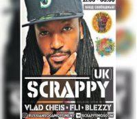 Soca artist Scrappy – Russian Tour 2018
